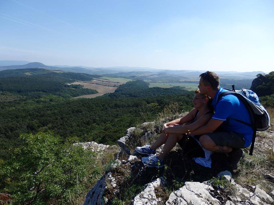 budapest Hikers romance in the forest Hiking in Hungary