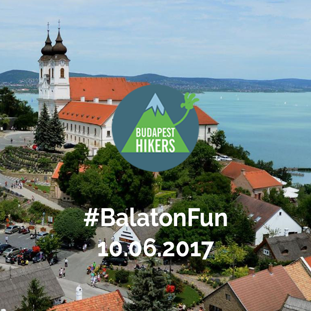 Balaton hiking tour with Budapest Hikers